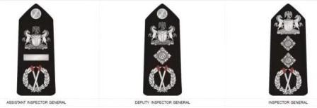 ranks in nigeria police & badges