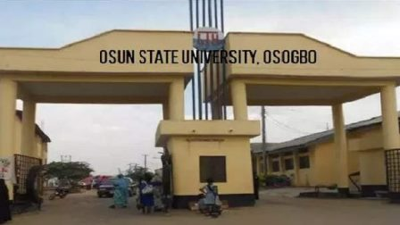academic courses offered at UNIOSUN