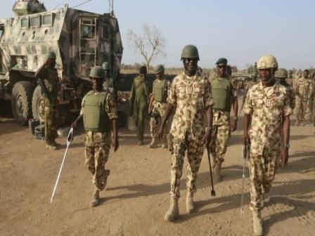 Nigerian army ranks & salary
