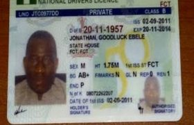Driver's License in Nigeria