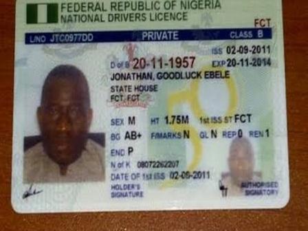 Driver's License in Nigeria