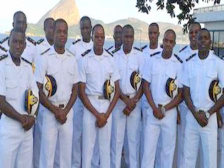 Ranks and salary of Nigerian Navy