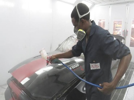 Car painting cost in Nigeria